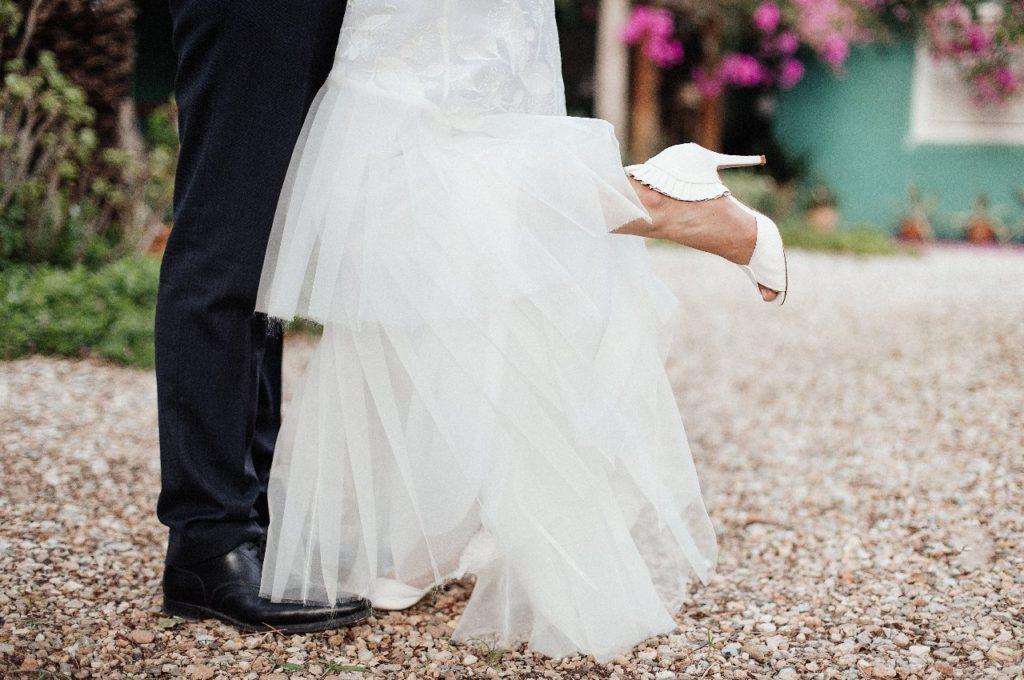 Création d'une robe de mariage sur mesure (carlotta)