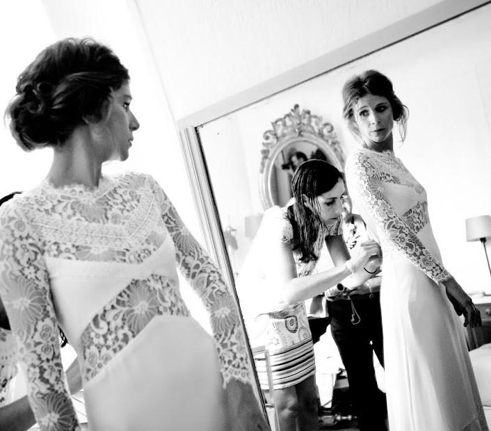 Création d'une robe de mariage sur mesure (2016-anne-sophie)