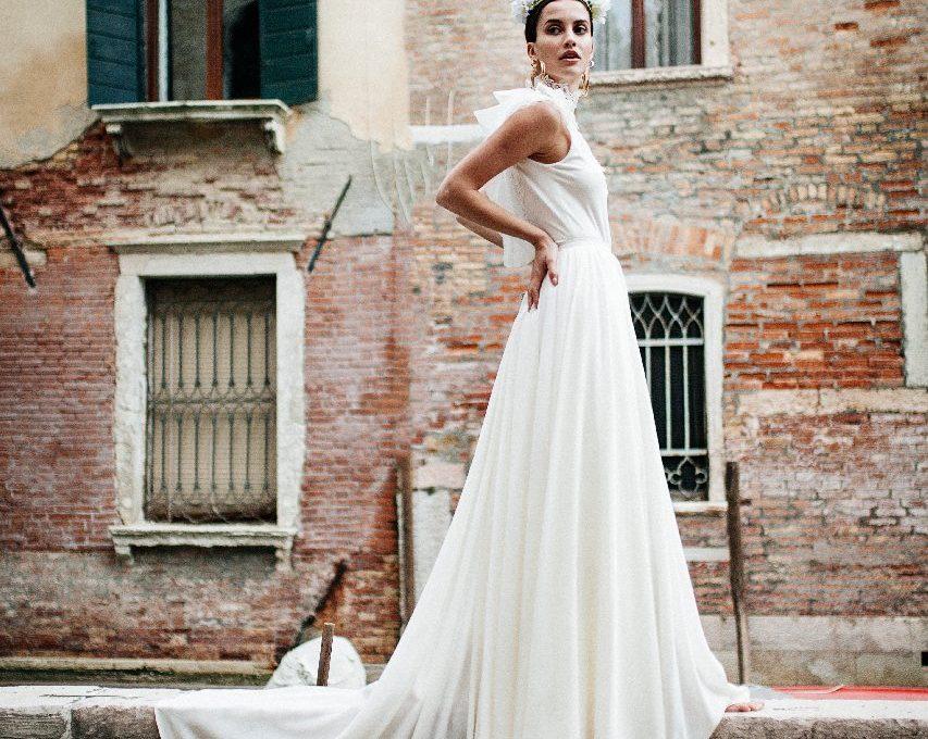 Création d'une robe de mariage sur mesure (2017-ana-1)