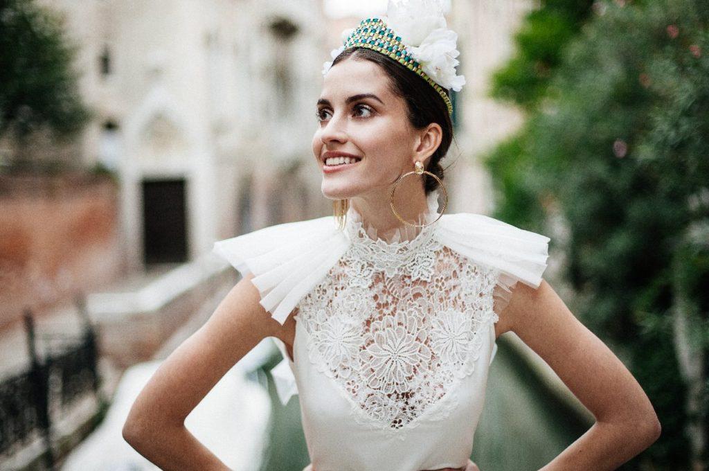 Création d'une robe de mariage sur mesure (2017-ana-3)