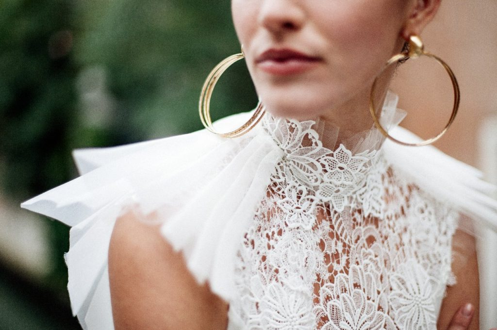Création d'une robe de mariage sur mesure (2017-ana-6)