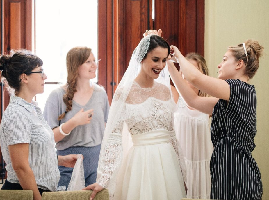 Constance Fournier créatrice de robe de mariée