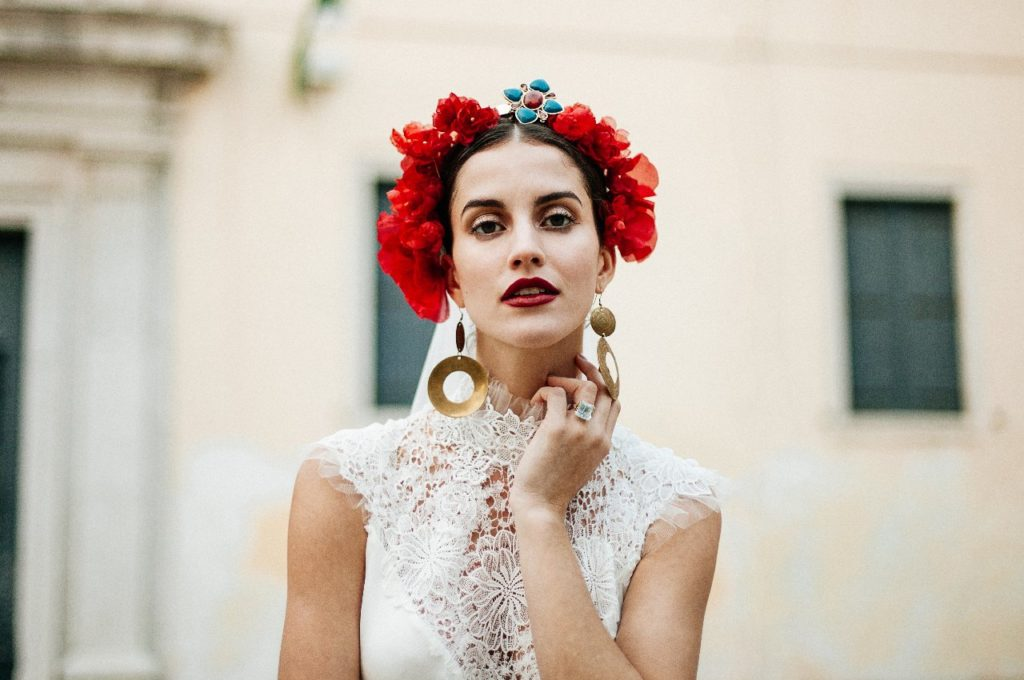 Création d'une robe de mariage sur mesure (2017-mona-5)
