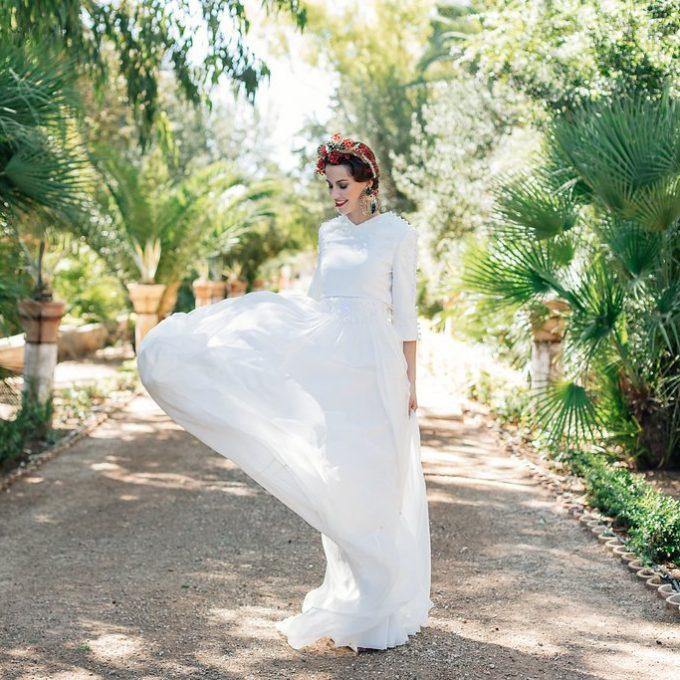 Création d'une robe de mariage sur mesure (2018-teresa-1)