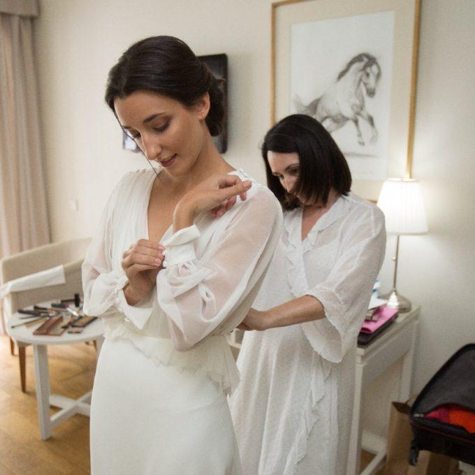 Création d'une robe de mariage sur mesure (2019-carmen)