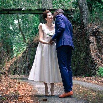 Création d'une robe de mariage sur mesure (2019-charlotte)