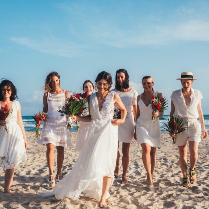 Création d'une robe de mariage sur mesure (2019-claire)