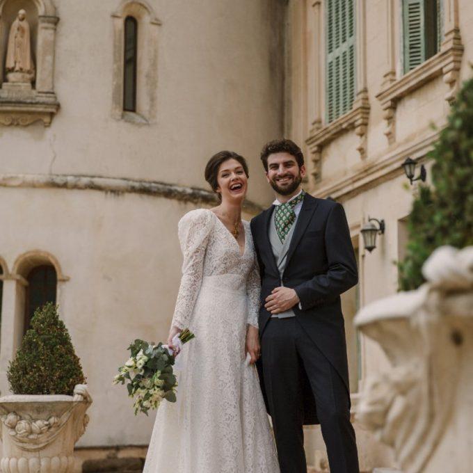 Création d'une robe de mariage sur mesure (2019-helene)