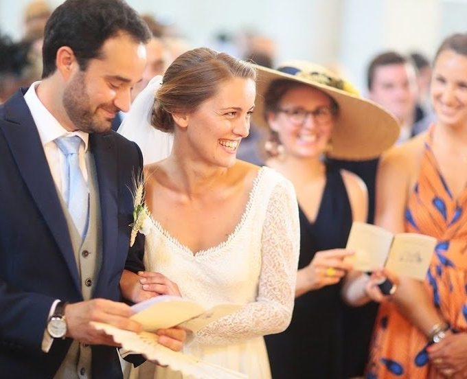 Création d'une robe de mariage sur mesure (2019-mathilde)