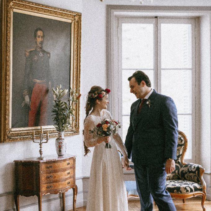 Création d'une robe de mariage sur mesure (2019-pauline)