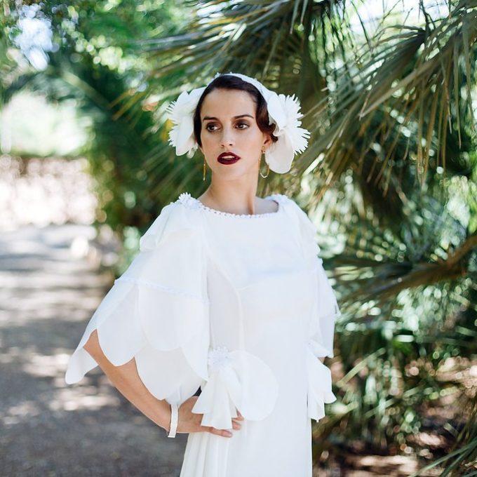 Création d'une robe de mariage sur mesure (2018-blanca-1)