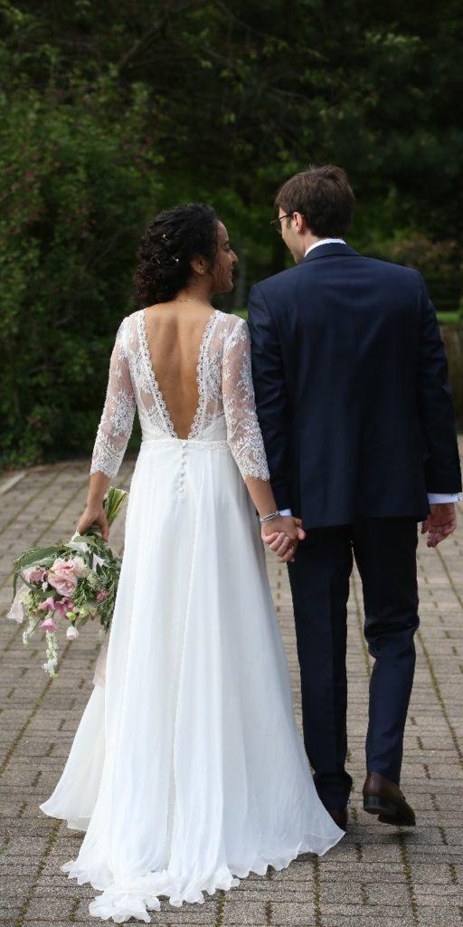 Création d'une robe de mariage sur mesure (hajar-5)