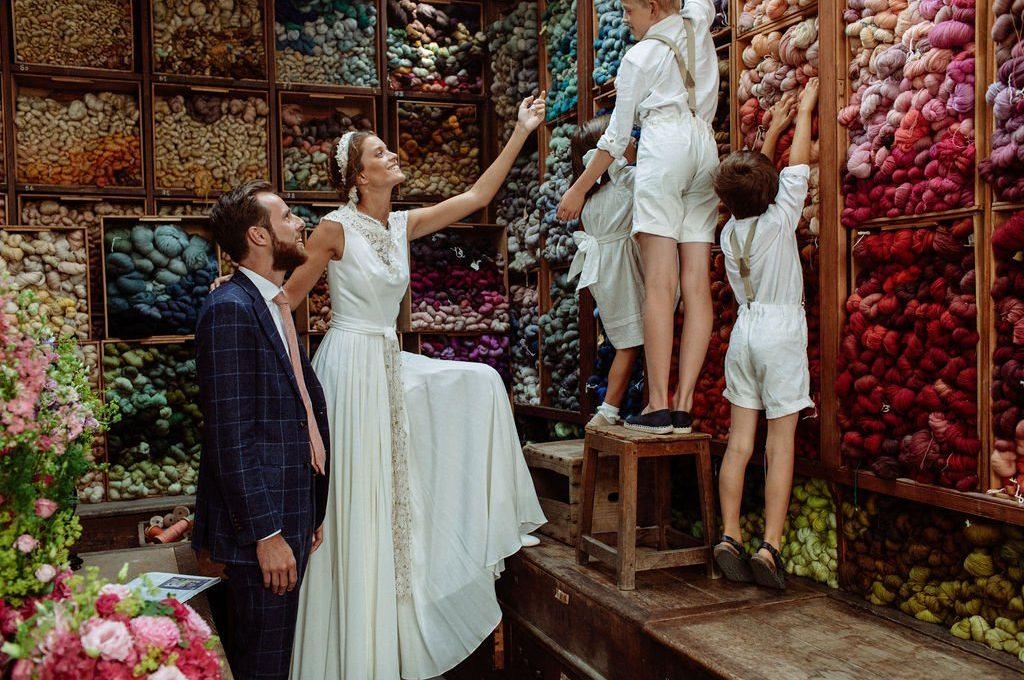 Création d'une robe de mariage sur mesure (2020-audrey)