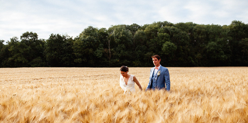 Anne-Laure dans SES blés