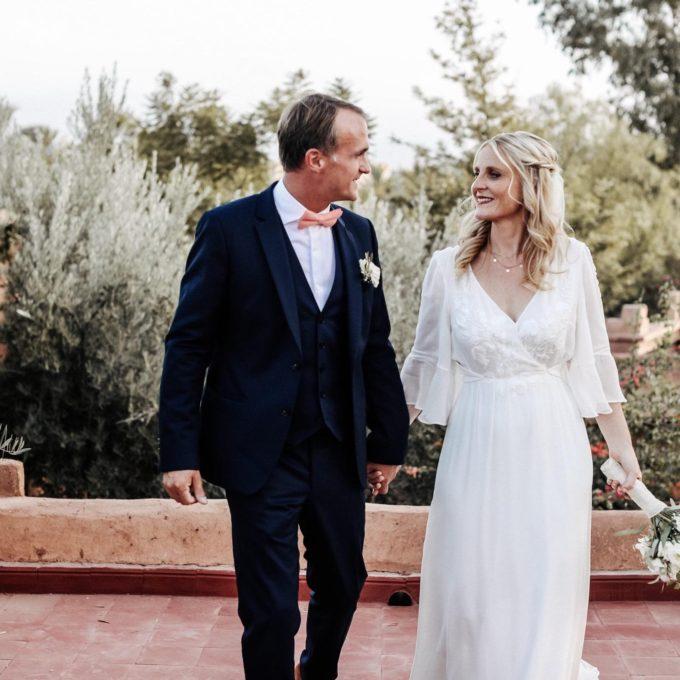 Mariage dans un riad