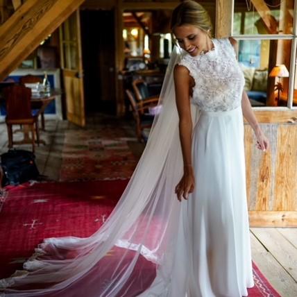 Robe unique sur-mesure Constance Fournier